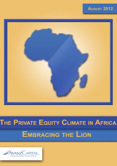 The Private Equity Climate in Africa: Embracing The Lion