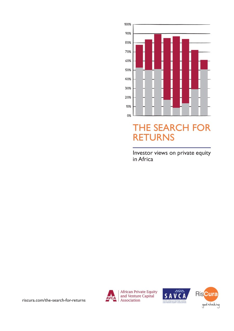 The Search for Returns: Investor Views on Private Equity in Africa