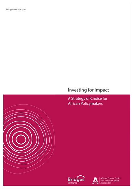 Investing for Impact: A Strategy of Choice For African Policymakers