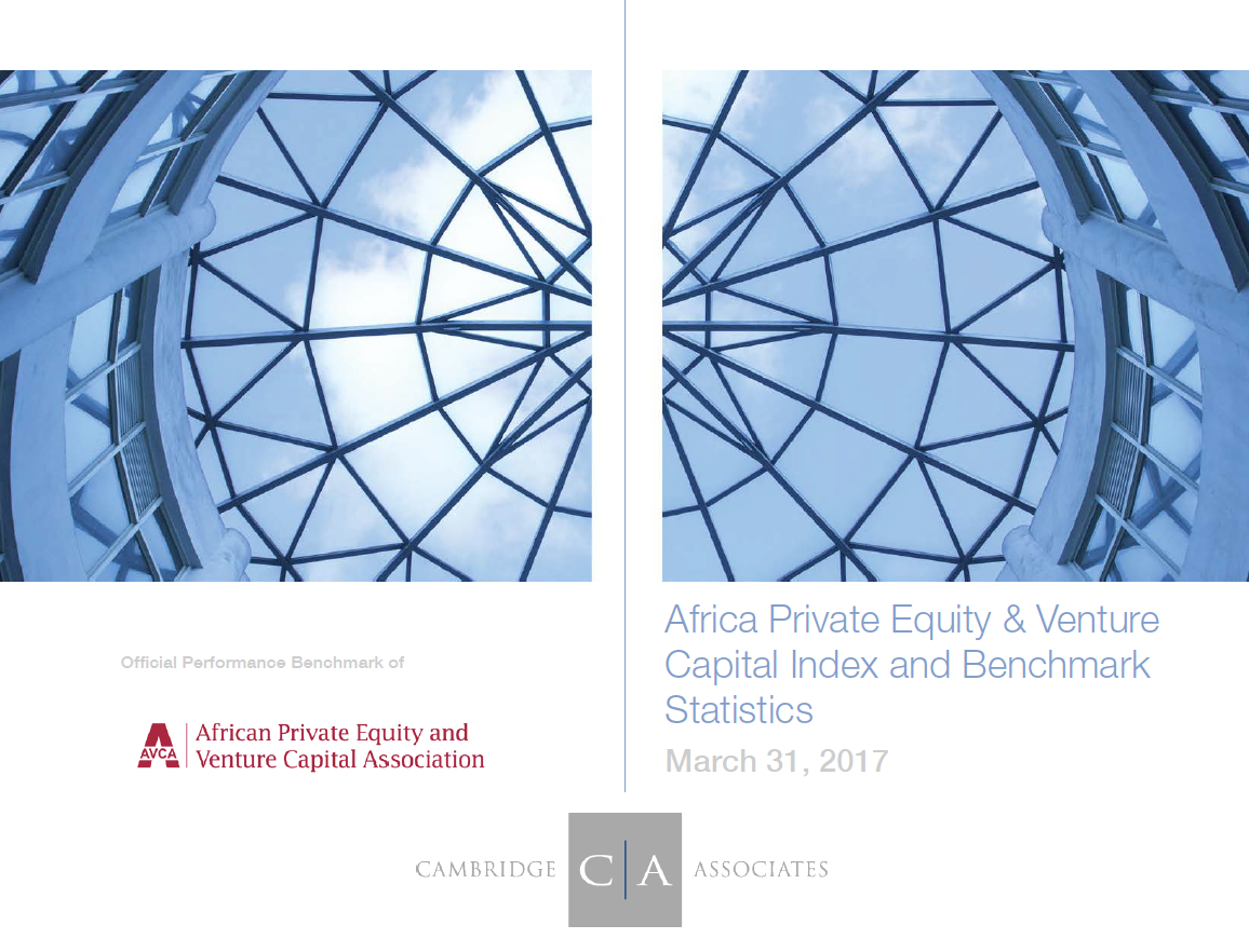 African PE & VC Performance Benchmark - Q1 2017