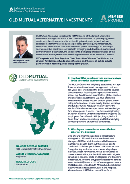 Old Mutual Alternative Investments (OMAI)