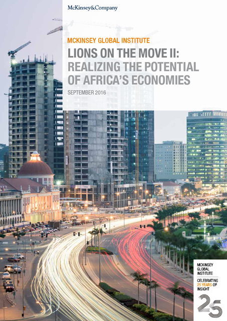Lions on the move II: Realising the potential of Africa's economies